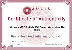 Certificate of Authenticity Small