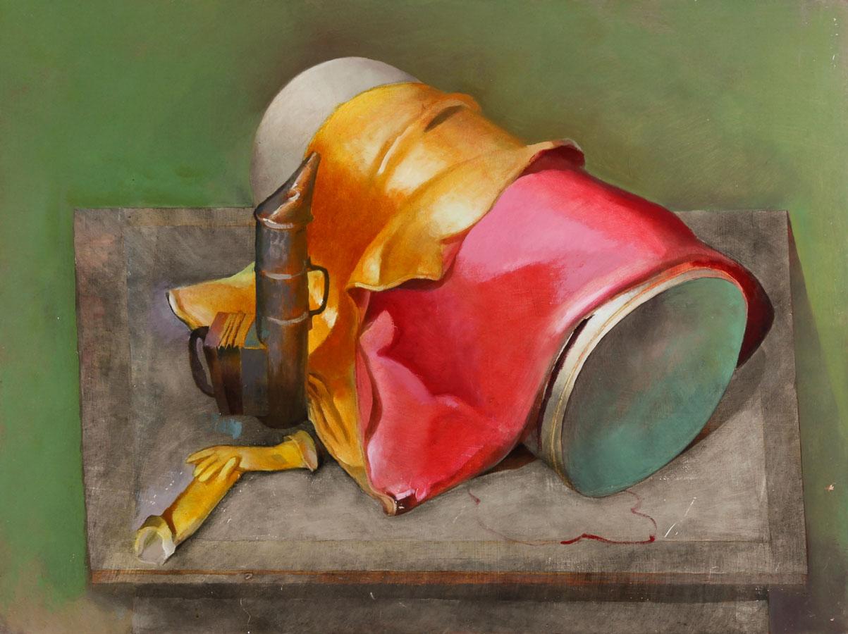 Julian Gordon Mitchell - Contemporary Oil, Still Life