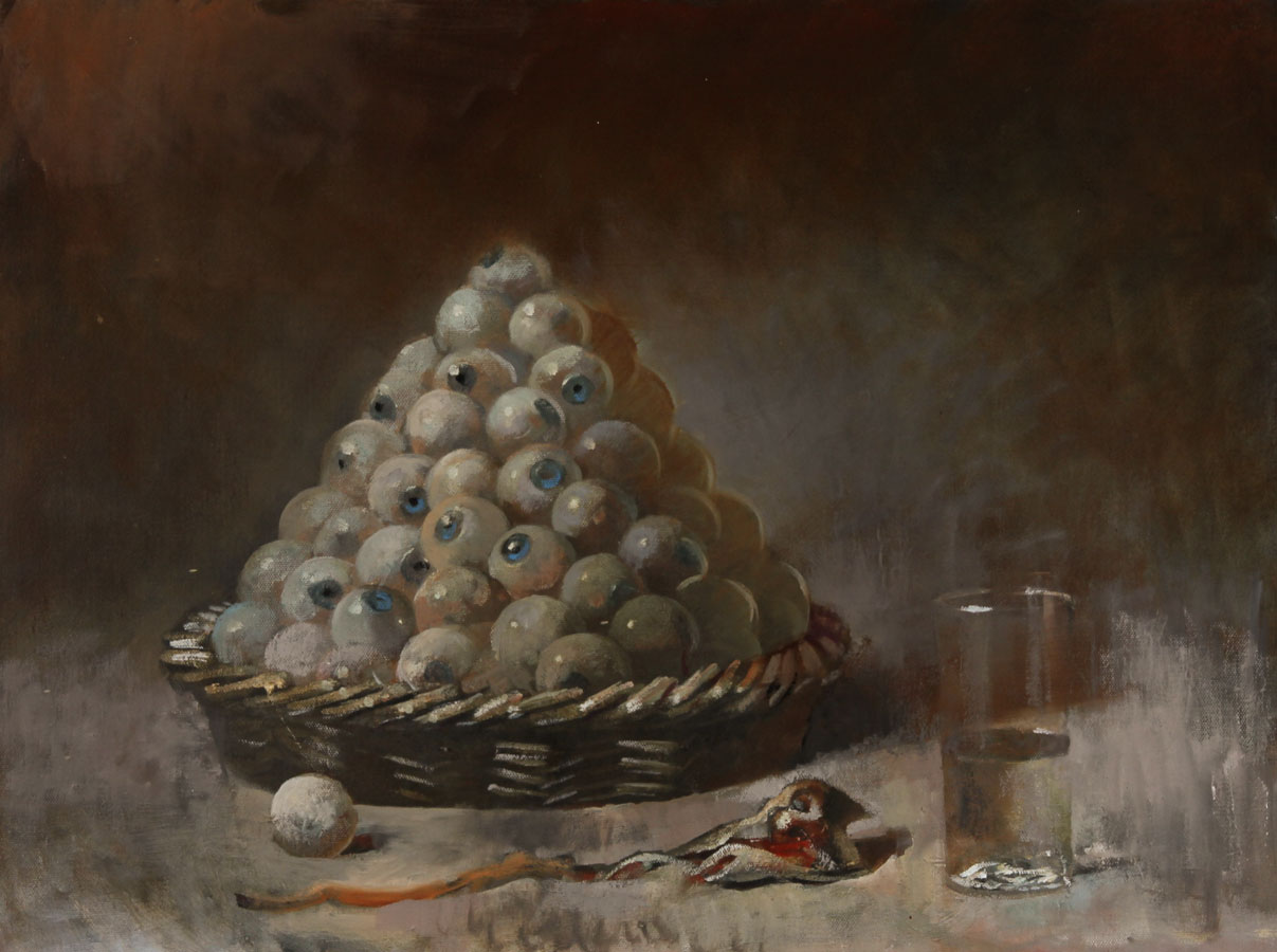Julian Gordon Mitchell - Contemporary Oil, A Visual Treat
