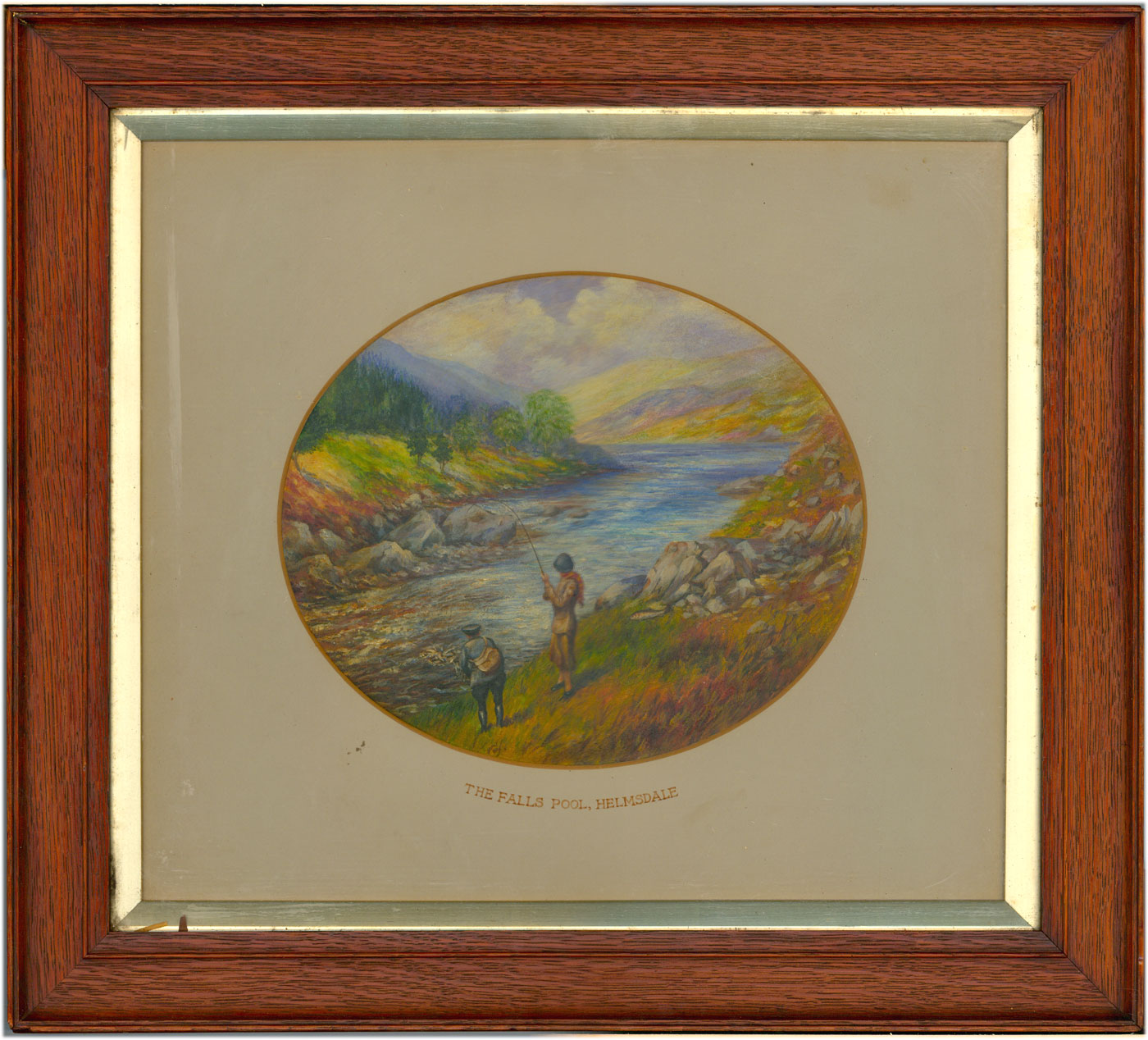 Frank Morris - Signed Mid 20th Century Gouache, Fishing at Helmsdale, Scotland