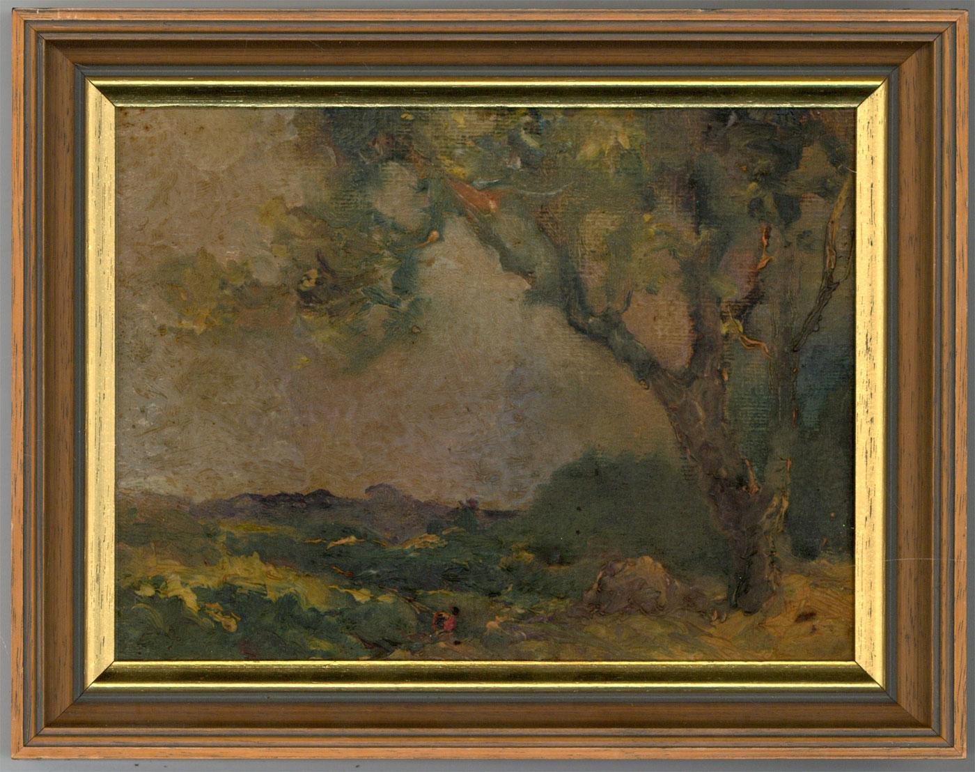 Graham Hyde - Impressionist Style 20th Century Oil, Woodland Landscape