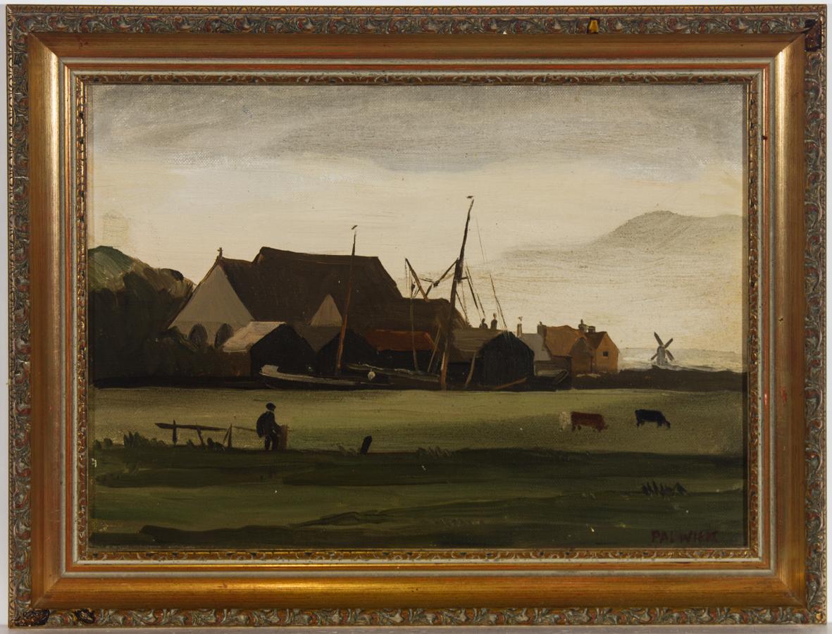 Philip Hugh Padwick RBA, ROI (1876-1958) - 1923 Oil, Sandwich, Kent