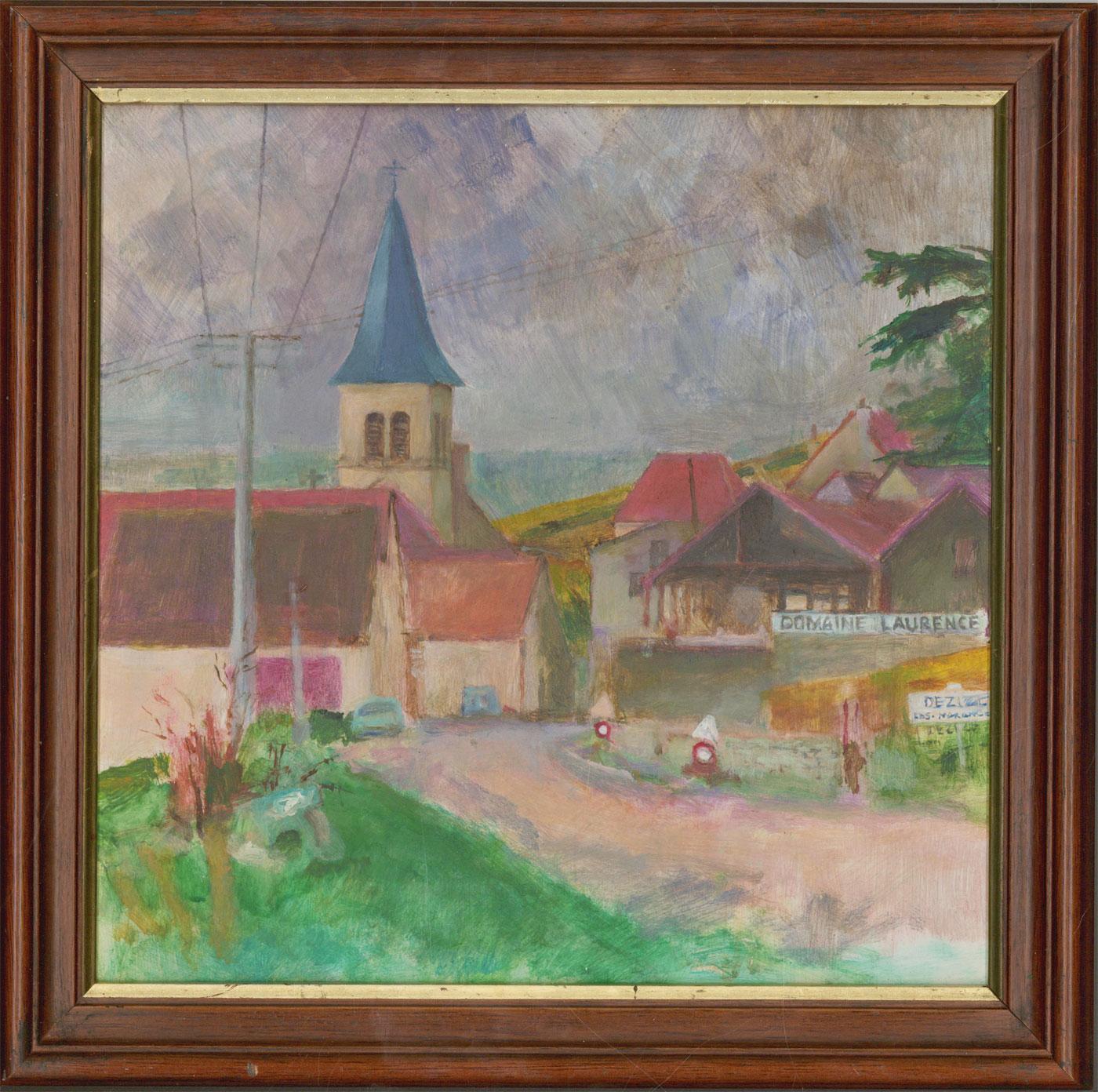 John Ivor Stewart PPPS (1936-2018) - Contemporary Oil, Domaine Laurence, France