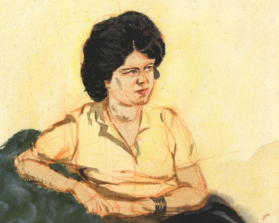 Geoffrey Richard Mortimer - 1962 Watercolour, Pat