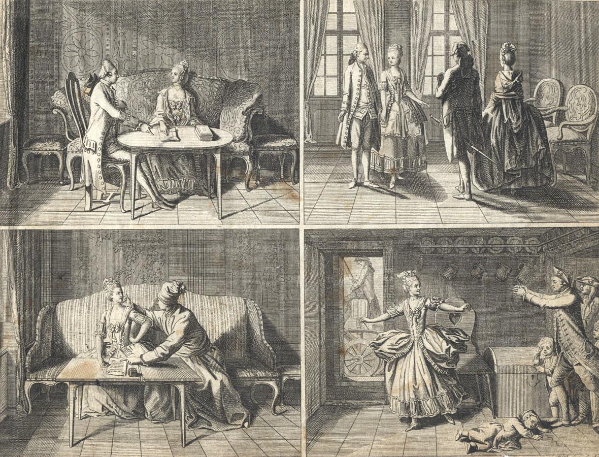 Daniel Chodowieki - 1773 Album of Engravings: On JB Basedow's Elementary Work
