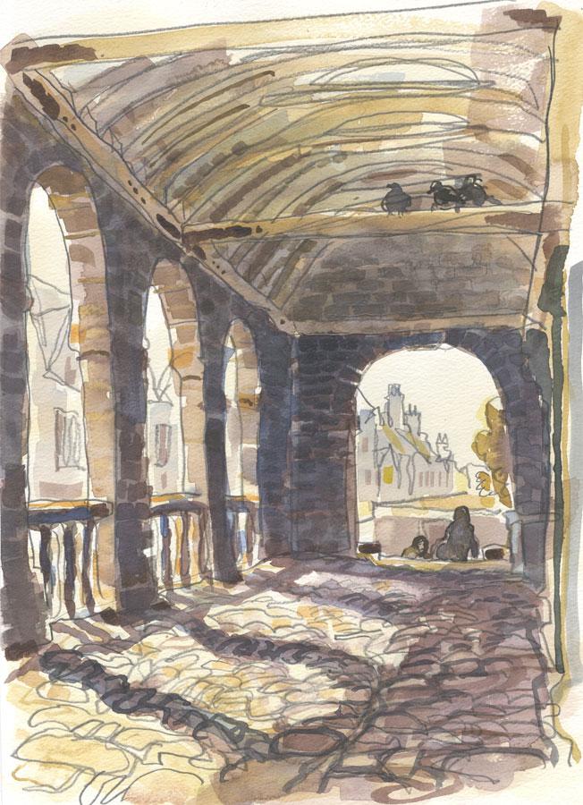 Robert T. Blayney (1929-2016) - Mid 20th Century Watercolour, Archway