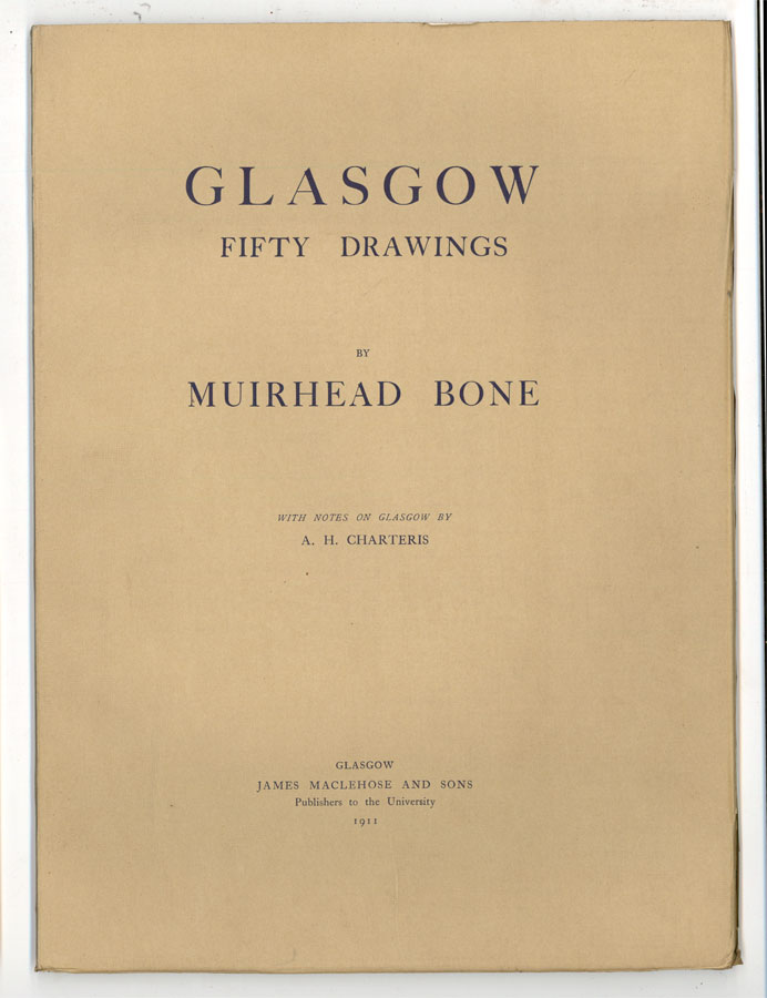 After Sir Muirhead Bone (1876-1953) - 1911 Photogravures, Glasgow Fifty Drawings