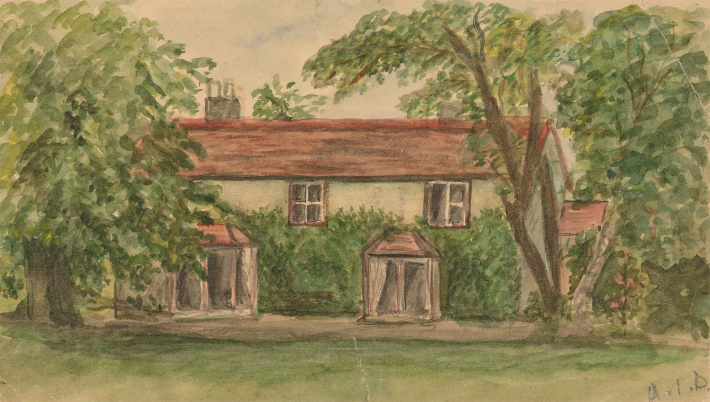 A.I.D. - Early 20th Century Watercolour, The Rectory, Essex