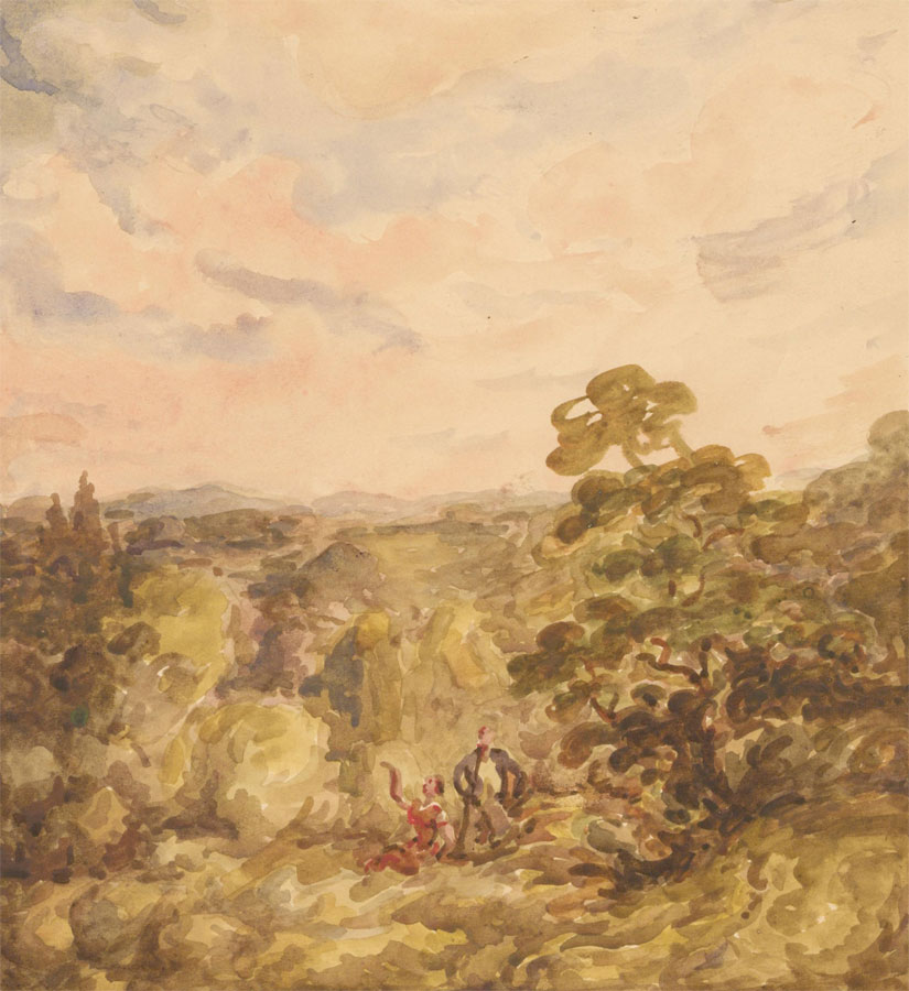 Harold Hope Read (1881-1959) - Early 20th Century Watercolour, English Landscape