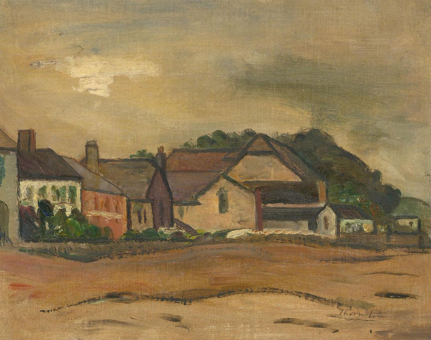 Alfred Henry Robinson Thornton NEAC (1863-1939) - Oil, Instow, Devon