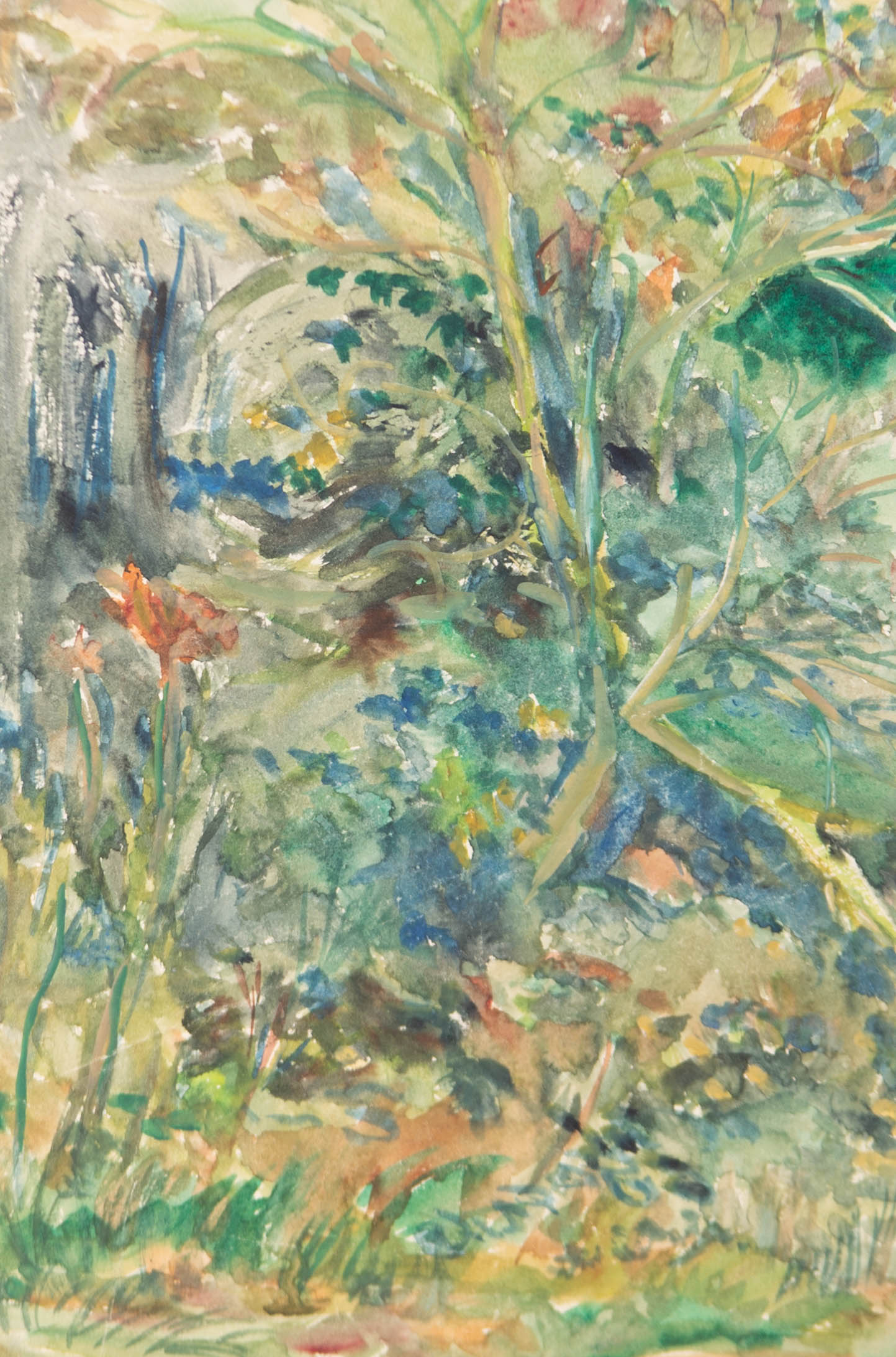 L. Preston - Signed Mid 20th Century Watercolour, Leaves in the Wind