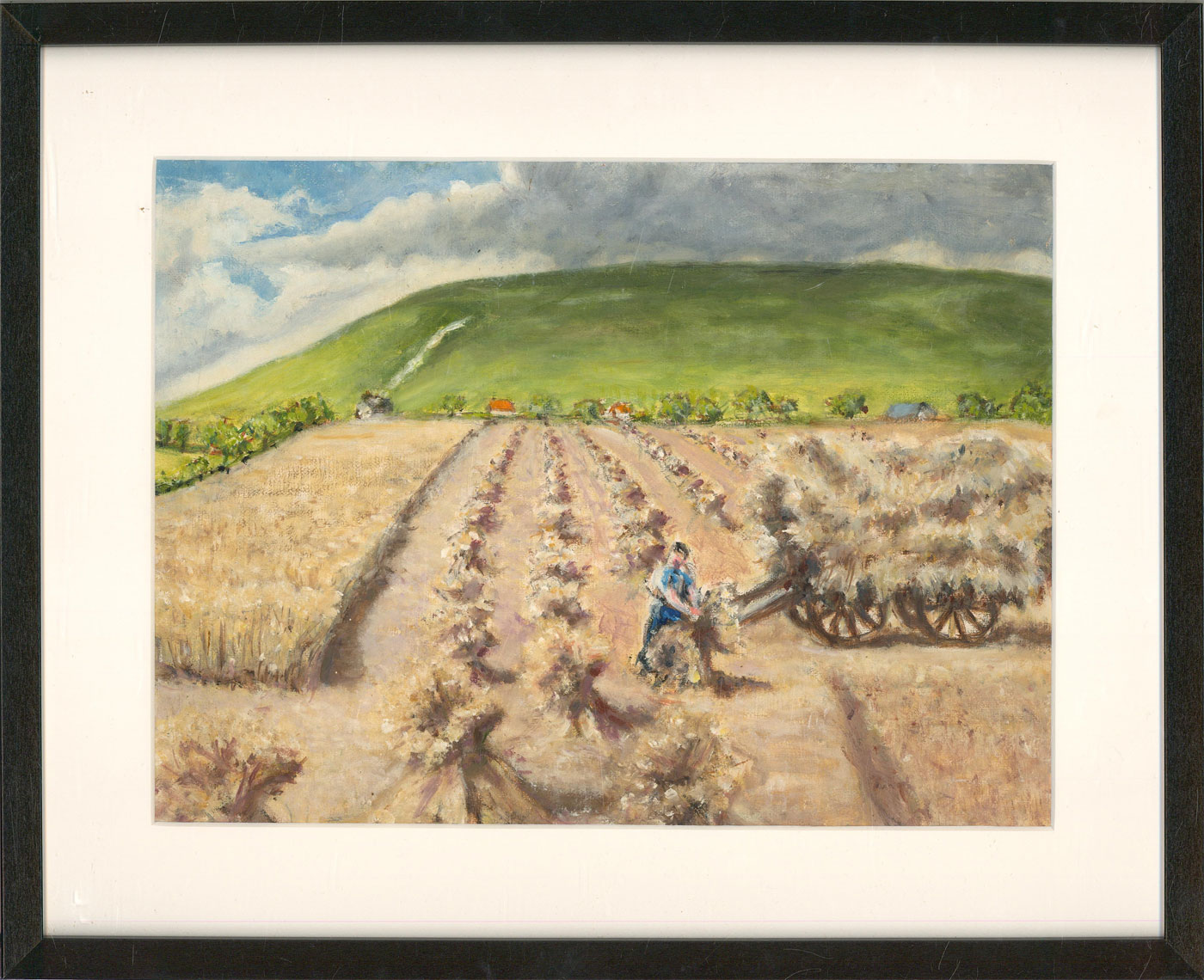 Contemporary Oil - Harvesting The Hay