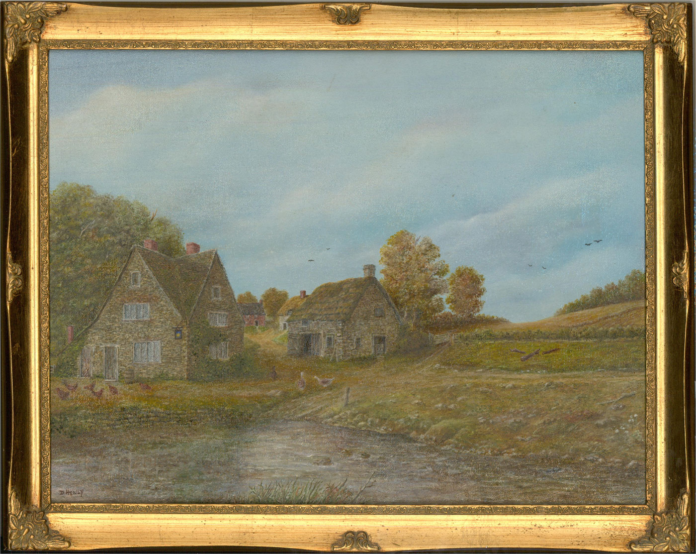 D. Henly - 20th Century Oil, Country Farm