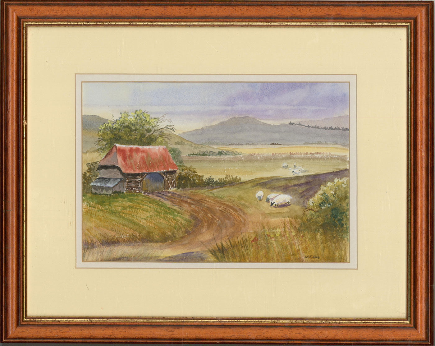 Wendy Thomson - 2004 Watercolour, Harvest Home