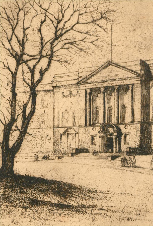Ethel Gray - Signed Early 20th Century Etching, The Training College