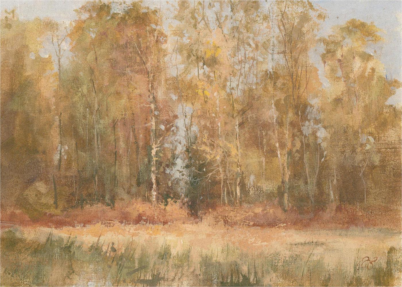 A.B. - 20th Century Oil, Winter Sunshine, Headley Heath