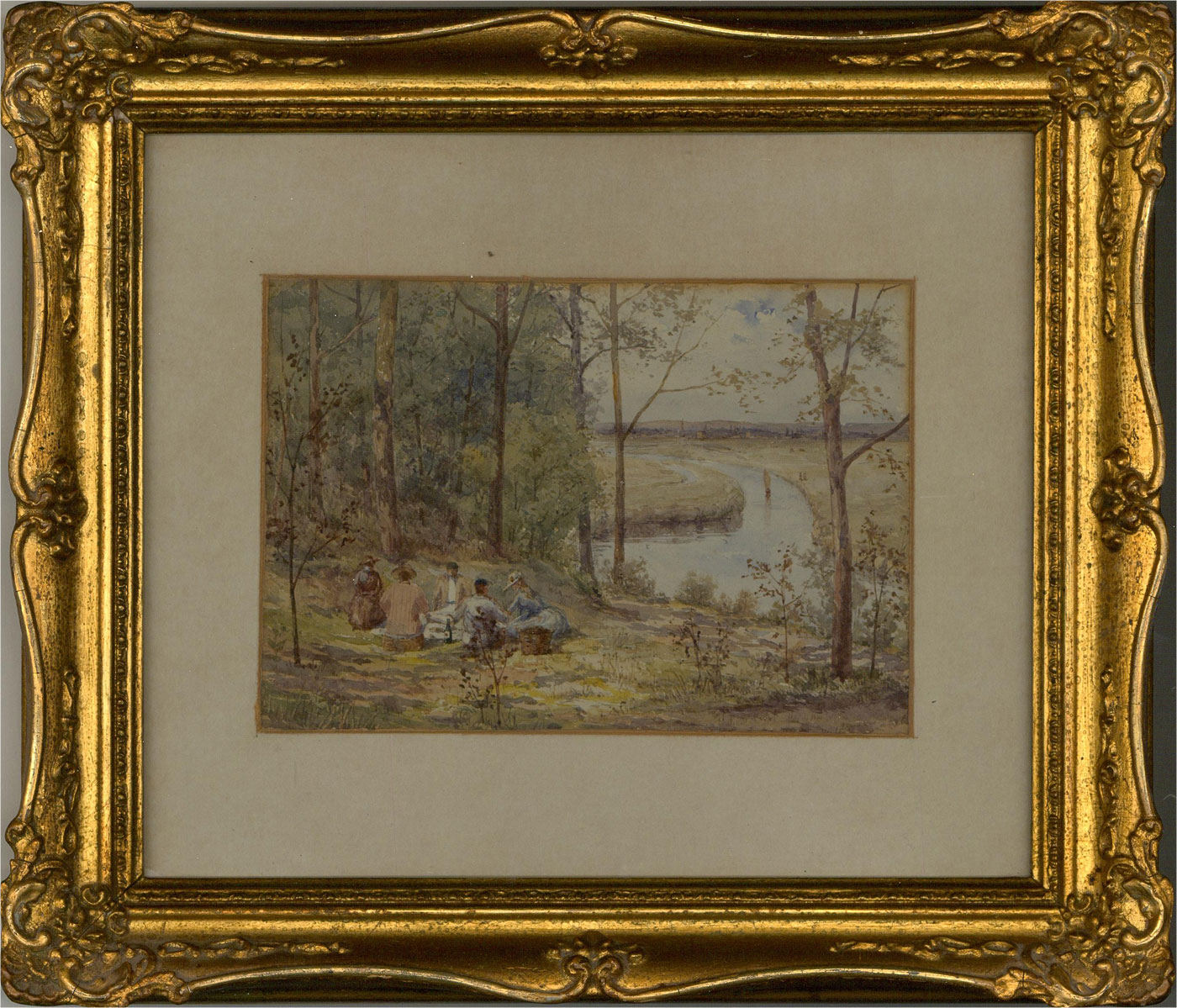 Early 20th Century Watercolour - The Picnic