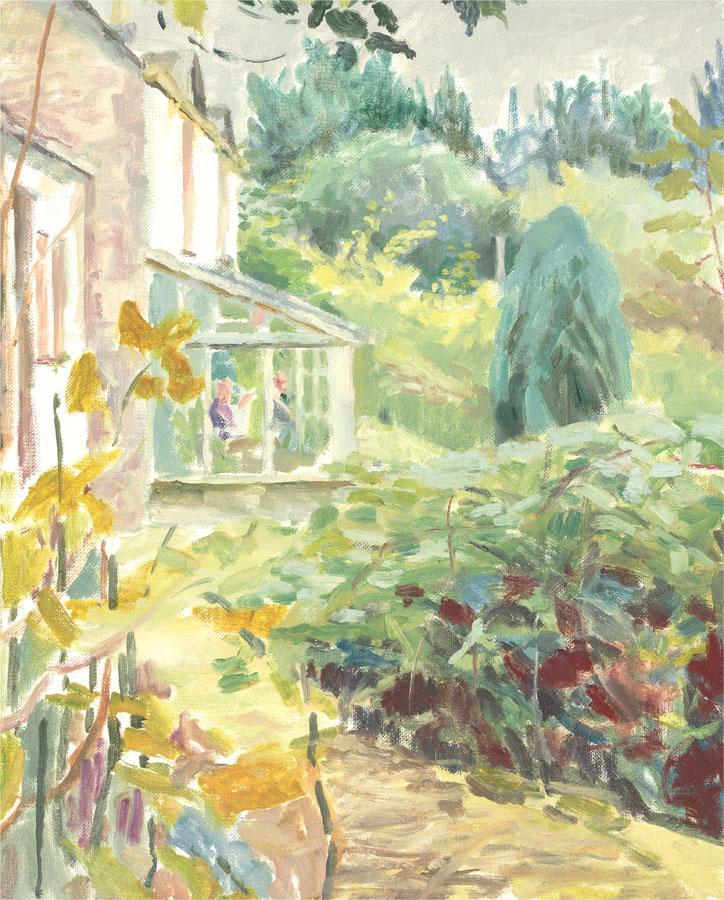 Pamela Chard (1926-2003) - 20th Century Oil, The Garden