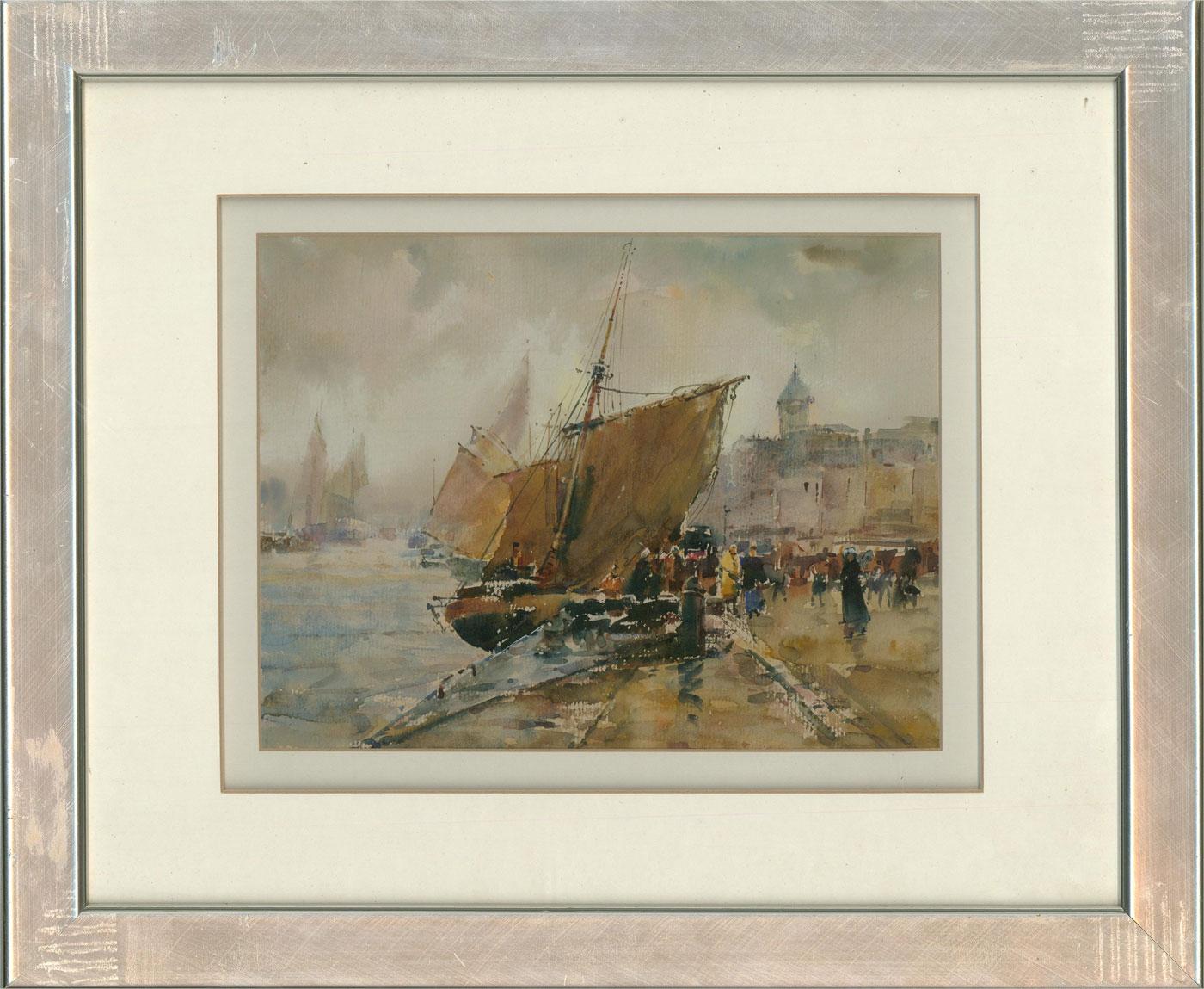 Contemporary Watercolour - Disembarking