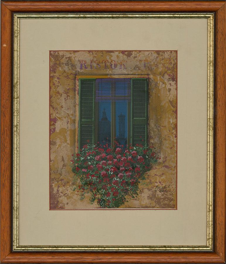 Ivana Zanetti - Contemporary Acrylic, Ristorante