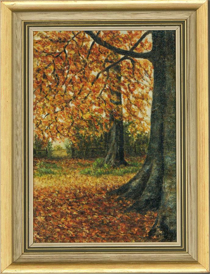 R. Melville Rudd - 20th Century Oil, Autumn