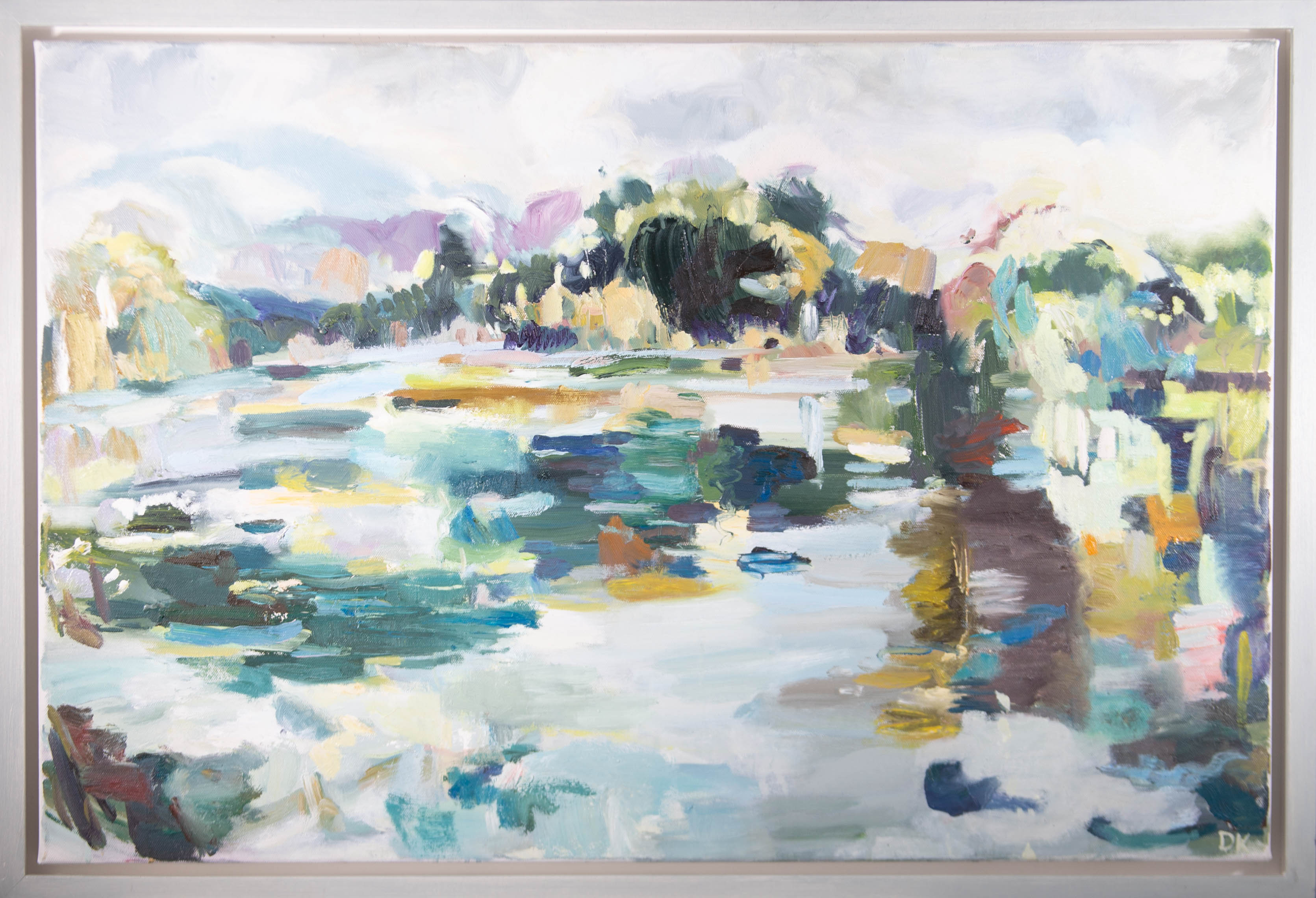 D.K - Contemporary Oil, September Pond