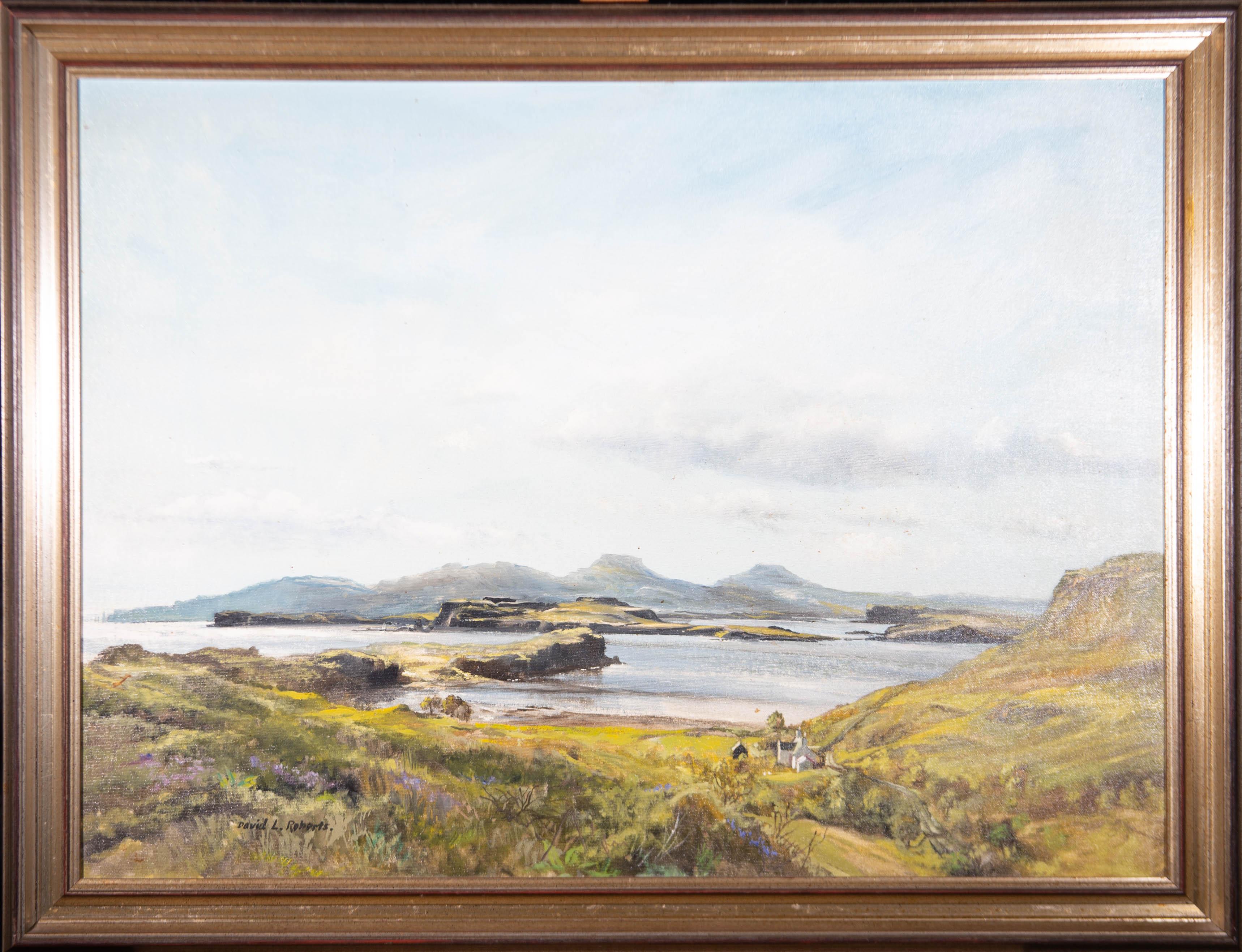 David L. Roberts (1934-1997) - Large Oil, Duirinish Peninsula, Isle of Skye