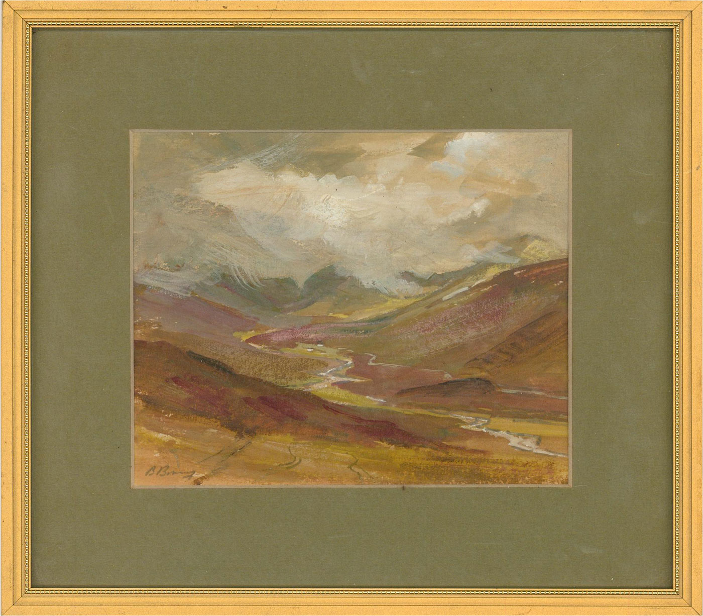 Contemporary Gouache - The Great Valley