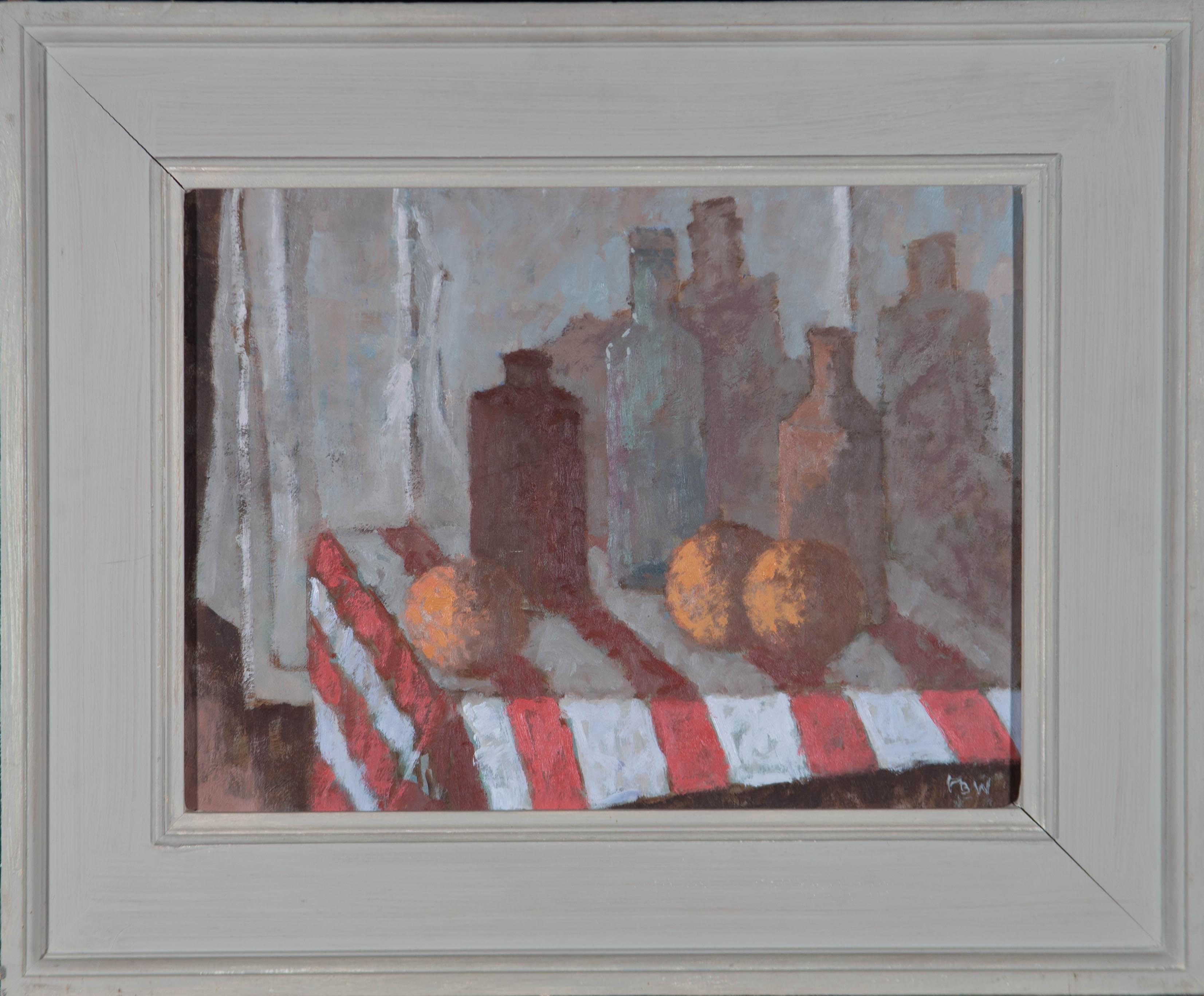 Oliver Warman RBA ROI (1932-2017) - 20th Century Oil, Still Life