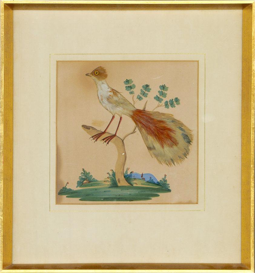 Early 20th Century Mixed Media - Chinese Bird