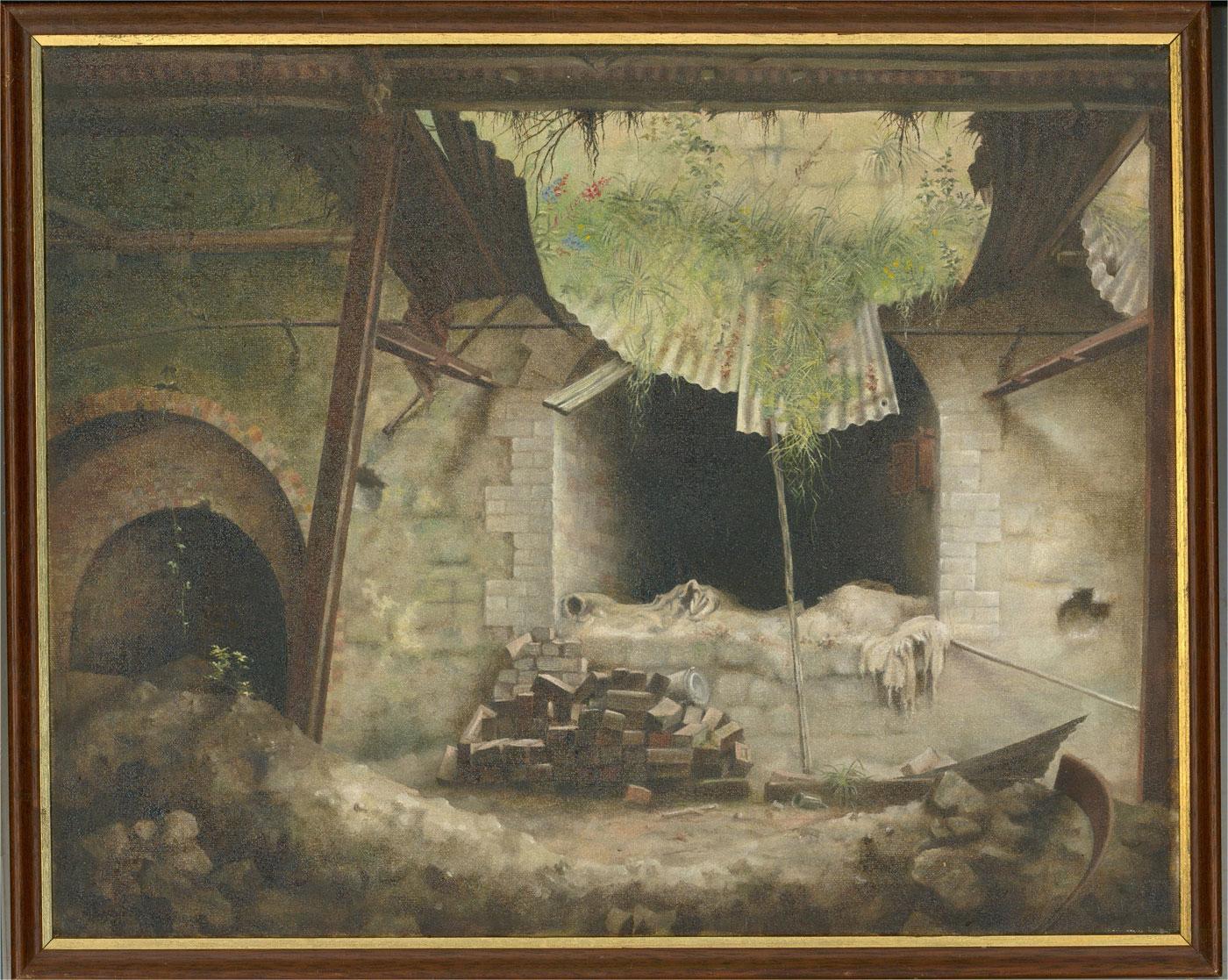 Contemporary Oil - Underground Ruin