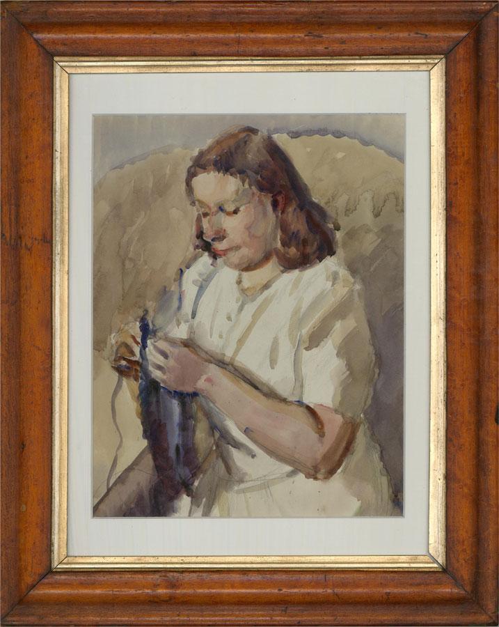 Dorothy Hepworth (1894-1978) - Mid 20th Century Watercolour, Sonya Redway