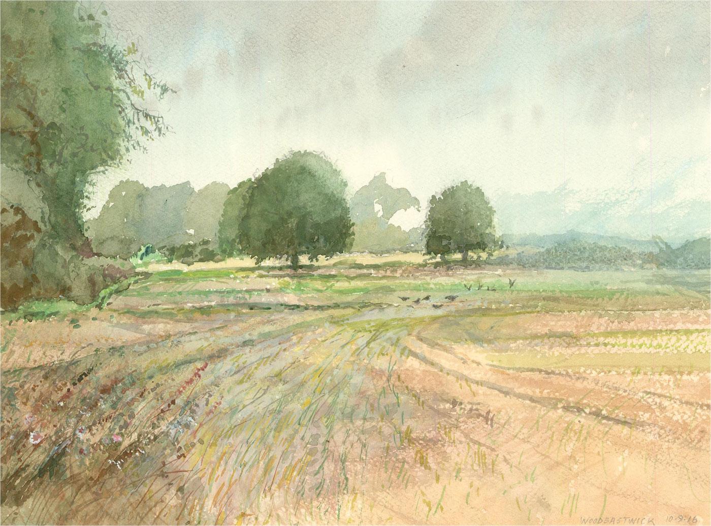 Keith Johnson (1931-2018) - 2016 Oil, Woodbastwick