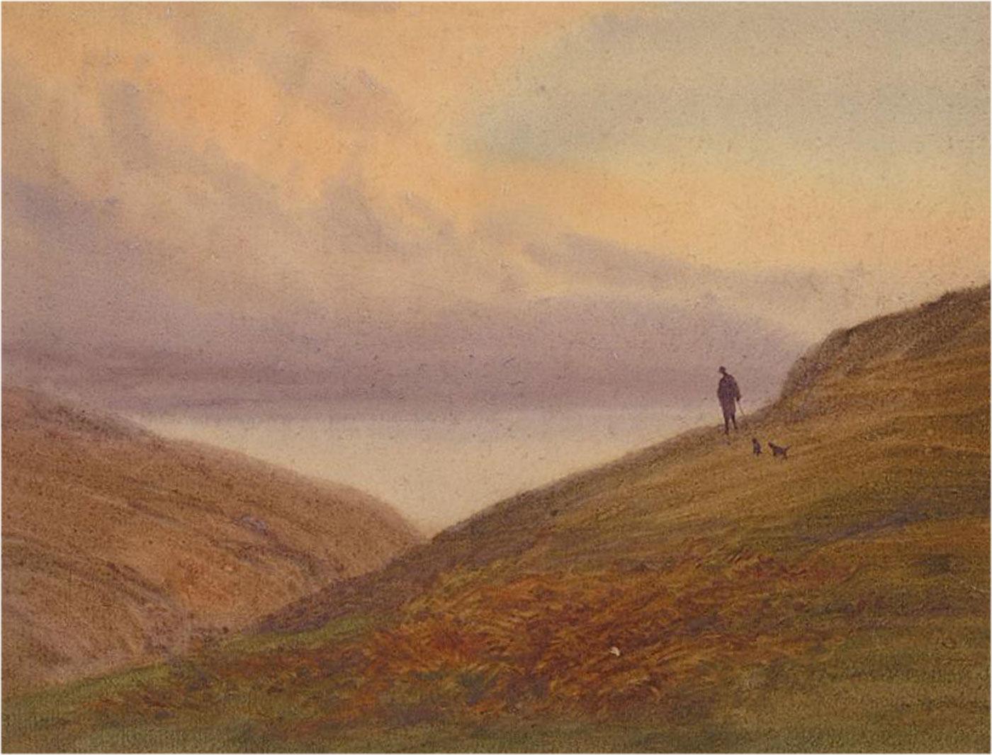 Late 19th Century Watercolour - Summerdale Landscape