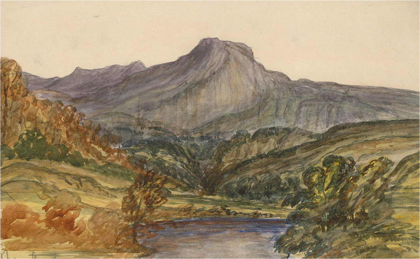 J.H Boggis - Signed Mid 20th Century Watercolour, From the Artist's Studio