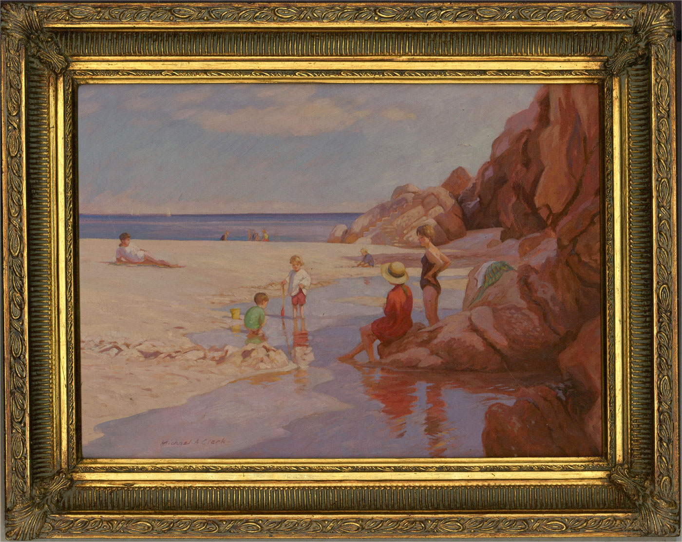 Michael A. Clark - 20th Century Oil, At the Seaside