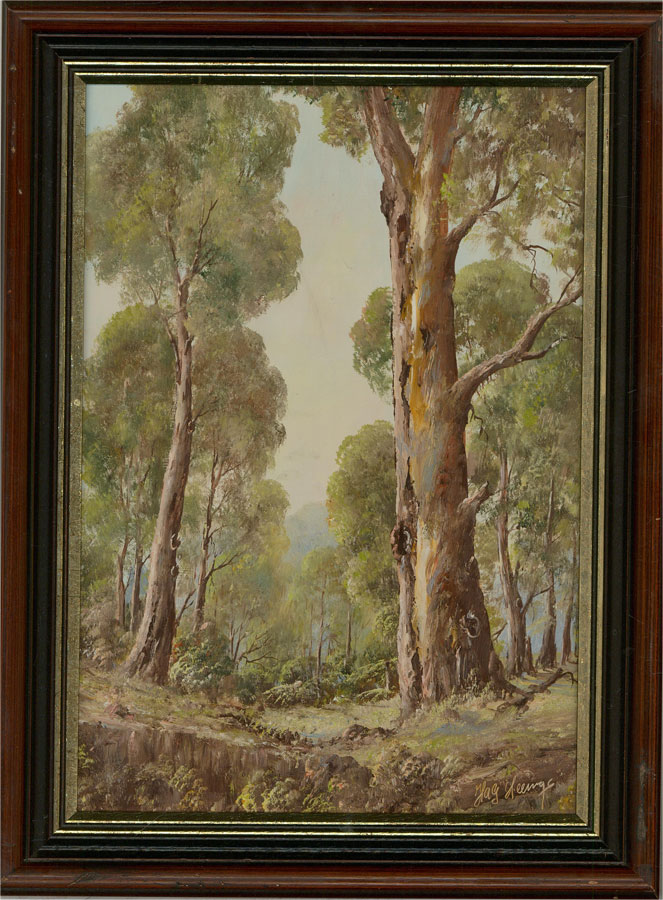 H.A.G. Heerings - Contemporary Oil, Australian Forest