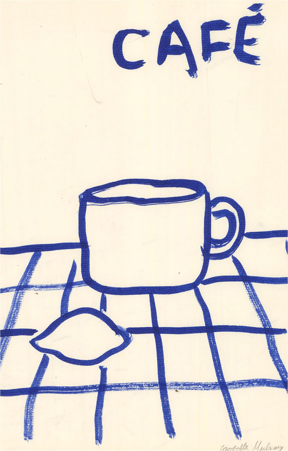 Isabelle Mulvany - 2021 India Ink, Time For Coffee
