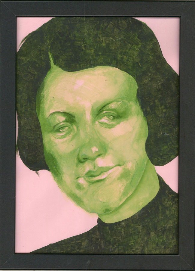 Isabelle Mulvany - Contemporary Watercolour, Green Gaze