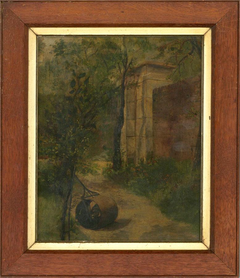 1882 Oil - Mrs Parker's Garden