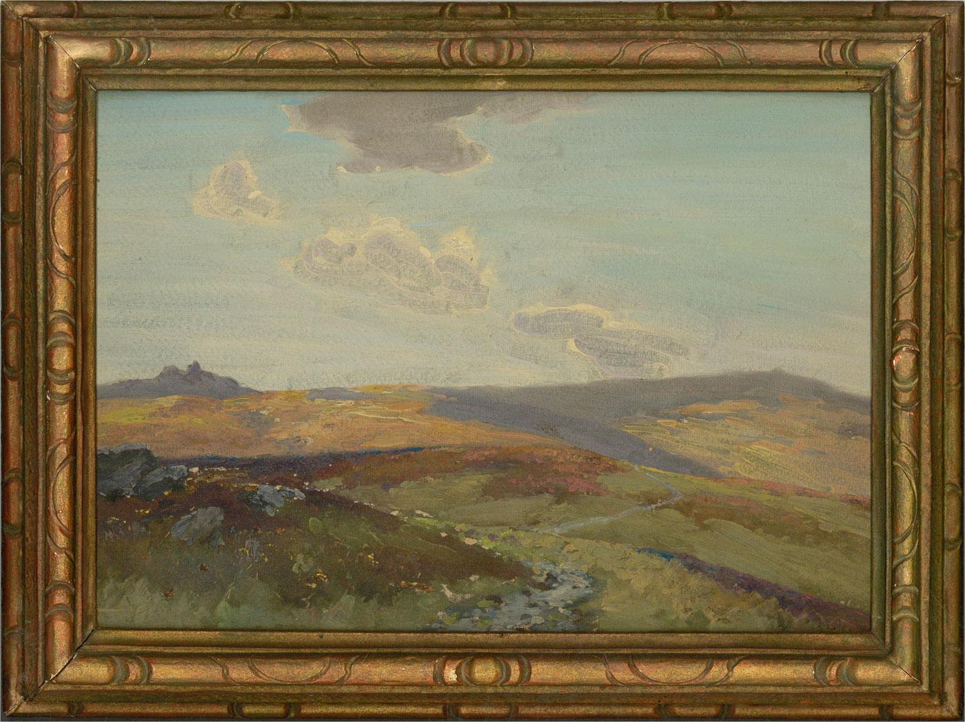 Attrib. Frederick John Widgery (1861-1942) - Early 20th Century Oil, Heathland