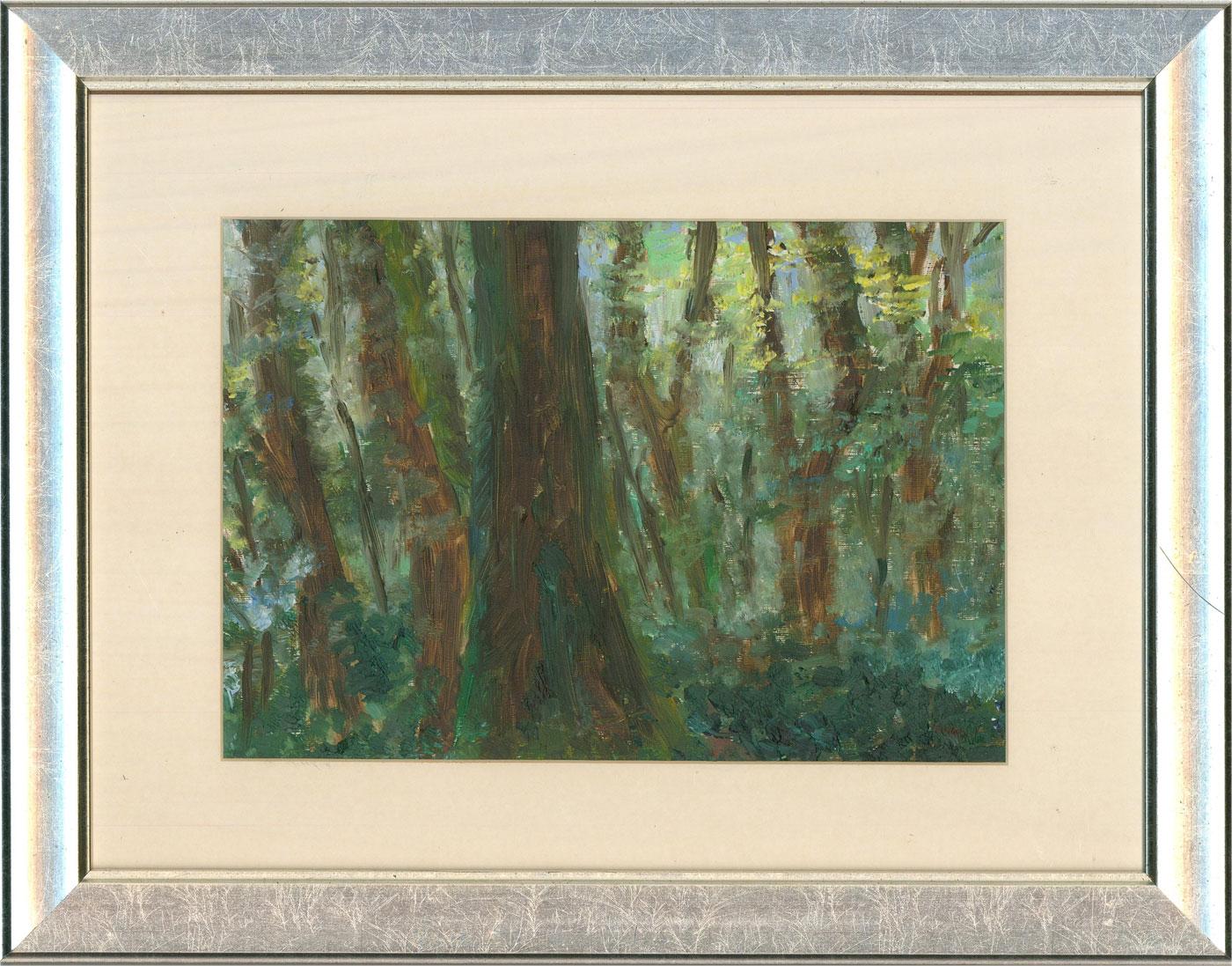 Sheila M. Gunn - 20th Century Oil, Trees