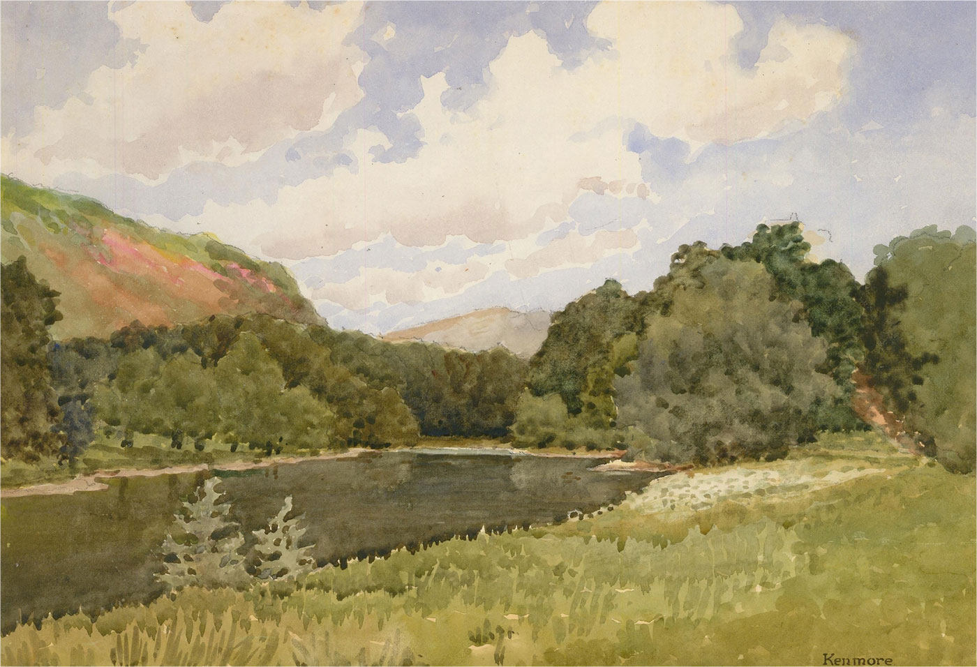 Raymond Turner Barker (1872-1945) - 1934 Watercolour, Kenmore