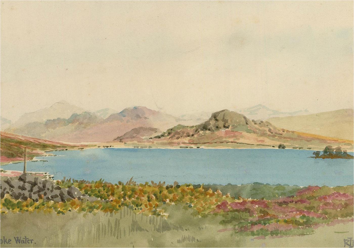 Raymond Turner Barker (1872-1945) - Early 20th Century Watercolour, Devoke Water