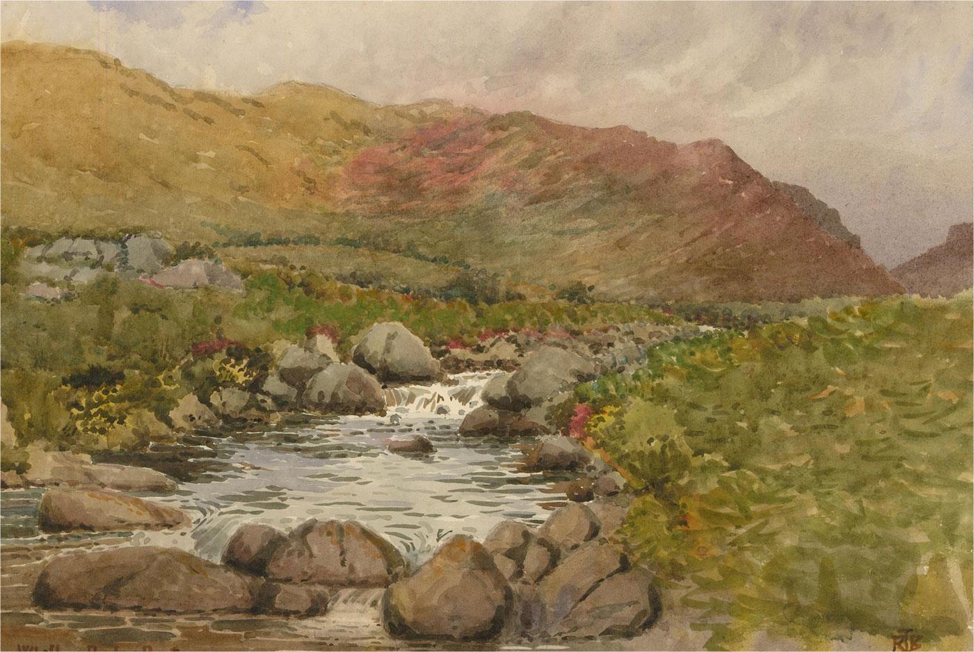 Raymond Turner Barker (1872-1945) - Early 20th Century Watercolour, Whillan Beck