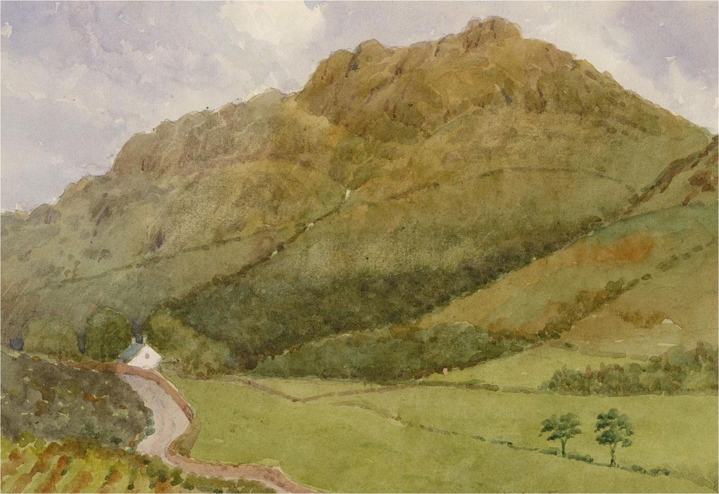 Raymond Turner Barker (1872-1945) - Early 20th Century Watercolour, Harter Fell