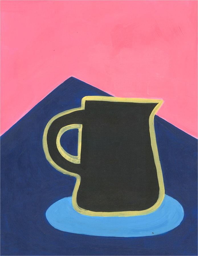 Sian Roberts - 2021 Acrylic, Study of a Jug