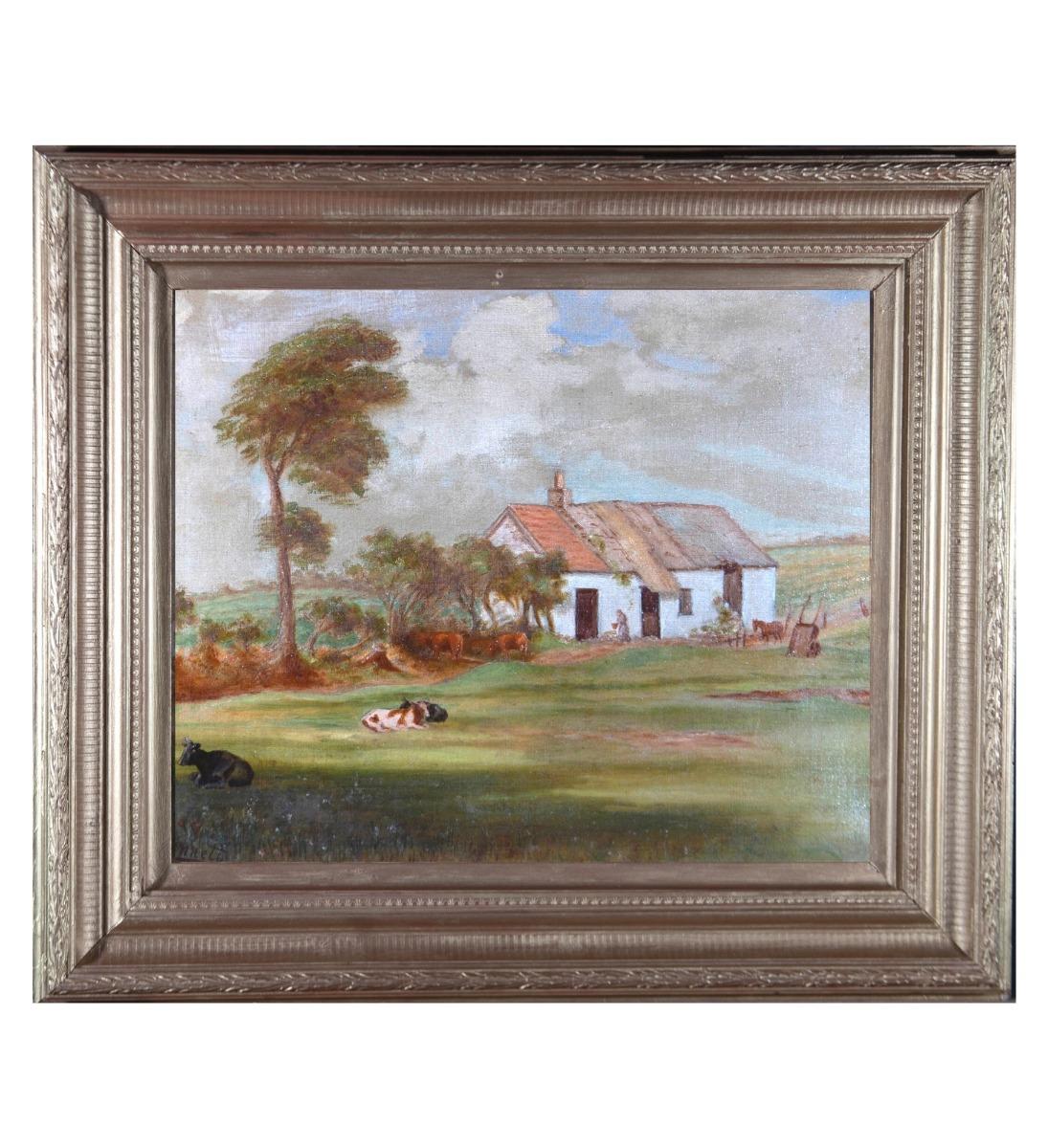 John J. Bennett - Signed Early 20th Century Oil, Graig Farm
