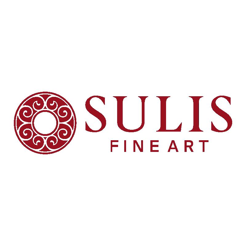 P.J. Collins (b.1954) - 2017 Watercolour, Five Tulips II