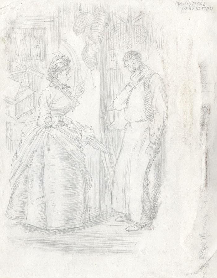 Art Good George Richards-corbett Set Of 10 20th Century Drawings